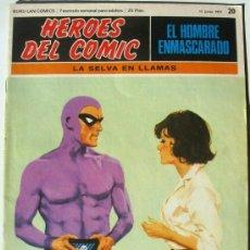 Cómics: EL HOMBRE ENMASCARADO - LA SELVA EN LLAMAS - Nº 20 - BURU LAN COMICS 1971 - HEROES DEL COMIC. Lote 38326538