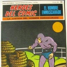Cómics: EL HOMBRE ENMASCARADO - LA JUSTICIA DEL HOMBRE ENMASCARADO - Nº 22 - BURU LAN COMICS 1971 . Lote 38326587