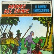 Cómics: EL HOMBRE ENMASCARADO - GUERRA EN LA SELVA - Nº 24 - BURU LAN COMICS 1971 - HEROES DEL COMIC. Lote 38326633