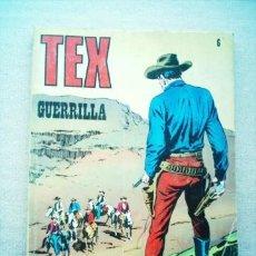 Cómics: TEX Nº 6 GUERRILLA 25 PTAS BURU LAN (BURULAN) 1971. Lote 38476231