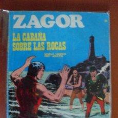 Cómics: ZAGOR Nº 25 ** BURU LAN ** LA CABAÑA SOBRE LAS ROCAS. Lote 40926873