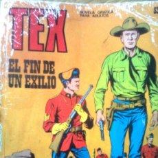 Cómics: TEX Nº 53 - EL FIN DEL EXILIO (BURU LAN, 1972). Lote 38914400
