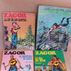 Cómics: ZAGOR BURU LAN NºS 13 15 16 31 - BURULAN - TAMBIÉN SUELTOS.. Lote 38999481