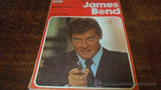 JAMES BOND ,TOMO: A TRAVES DEL MURO (Tebeos y Comics - Buru-Lan - James Bond)