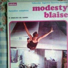 Cómics: MODESTY BLAISE- TOMO RETAPADO-II- 1974- ´EL SINDICATO DEL CRIMEN`- OCASIÓN-RARO- DIFICIL-0840. Lote 39095680
