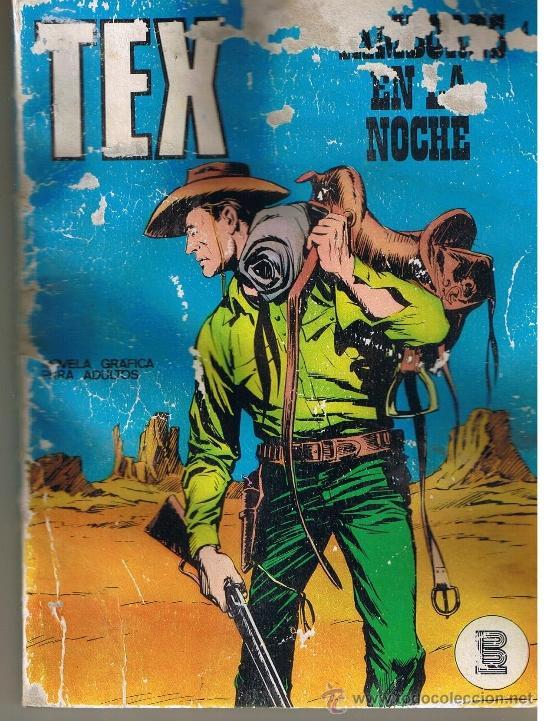 TEX NUMERO 4. BURU LAN. (ST/MG) (Tebeos y Comics - Buru-Lan - Tex)