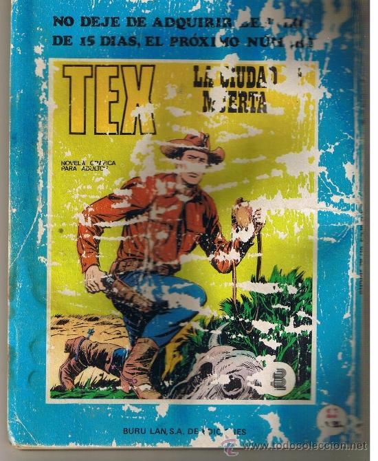 Cómics: TEX NUMERO 4. BURU LAN. (ST/MG) - Foto 2 - 39179361