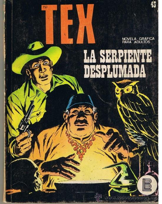 TEX. NUMERO 43. BURU LAN (Tebeos y Comics - Buru-Lan - Tex)