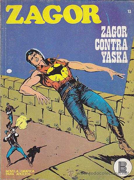 COMIC ZAGOR Nº 13 (Tebeos y Comics - Buru-Lan - Zagor)