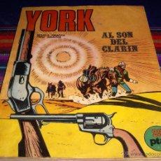 Comics - YORK Nº 1. BURU LAN 1971. AL SON DEL CLARÍN. 25 PTS. GENERAL. - 58471402