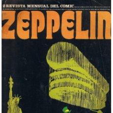 Cómics: ZEPPELIN REVISTA MENSUAL DEL COMIC. NUMERO 2. BURU LAN 1973 (C/A10). Lote 39494596
