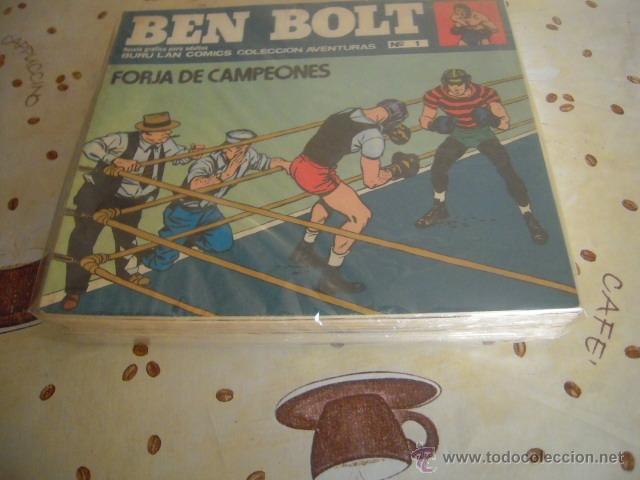 BEN BOLT COLECCION COMPLETA DE BURULAN 12 NUMEROS (Tebeos y Comics - Buru-Lan - Otros)