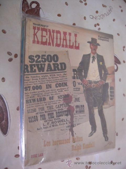SHERIFF KENDAL COMPLETA 5 TITULOS (Tebeos y Comics - Buru-Lan - Otros)