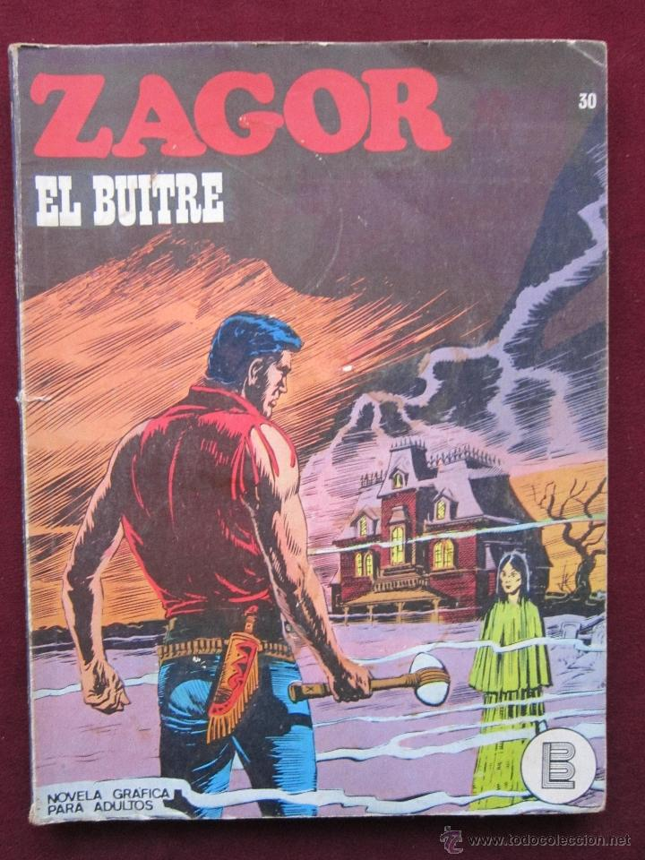 ZAGOR Nº 30. EL BUITRE. BURULAN, 1973. BONELLI. BURU-LAN (Tebeos y Comics - Buru-Lan - Zagor)