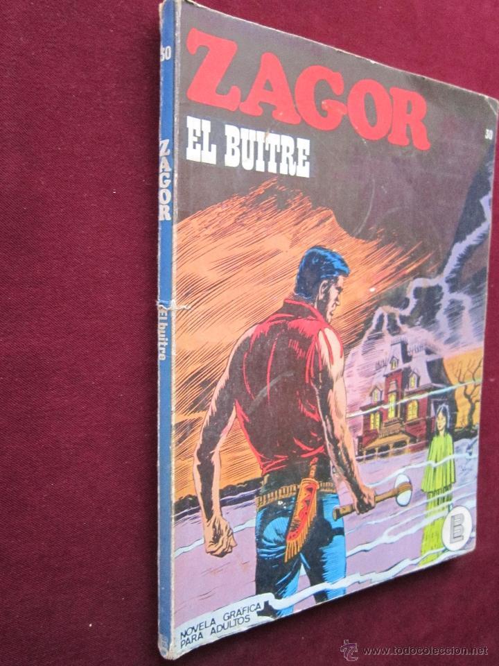 Cómics: Zagor Nº 30. El buitre. Burulan, 1973. Bonelli. Buru-lan - Foto 2 - 39741310