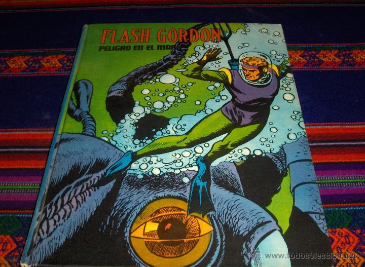 FLASH GORDON Nº X PELIGRO EN EL MAR. BURU LAN 1973. (Tebeos y Comics - Buru-Lan - Flash Gordon)