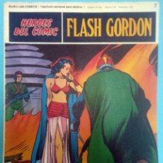 Cómics: FLASH GORDON Nº 07 ''LA SOMBRA VENGADORA'' HÉROES DEL CÓMIC EDITORIAL BURU LAN. Lote 39923067