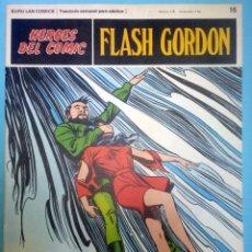 Cómics: FLASH GORDON Nº 16 ''TRAGADOS POR EL ABISMO'' HÉROES DEL CÓMIC EDITORIAL BURU LAN. Lote 39923483