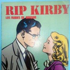 Cómics: RIP KIRBY: LOS RUBIES DE BANDAR EPISODIOS COMPLETOS EDITORIAL BURULAN. Lote 39925443