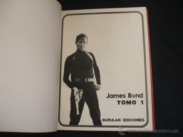 2 TOMOS ENCUADERNADOS - JAMES BOND - BURULAN - (Tebeos y Comics - Buru-Lan - James Bond)