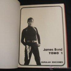 Cómics: 2 TOMOS ENCUADERNADOS - JAMES BOND - BURULAN -. Lote 39932818