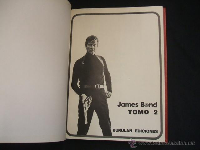 Cómics: 2 TOMOS ENCUADERNADOS - JAMES BOND - BURULAN - - Foto 6 - 39932818