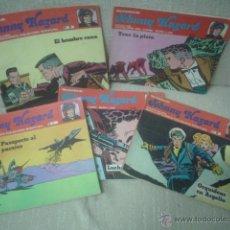 Cómics: JOHNNY HAZARD: LOTE 4 NÚMEROS. BURU LAN. Lote 40504358