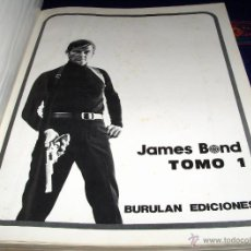 Cómics: JAMES BOND TOMO 1. BURU LAN 1974. 240 PÁGINAS. DIFÍCIL!!!!!!. Lote 40593753