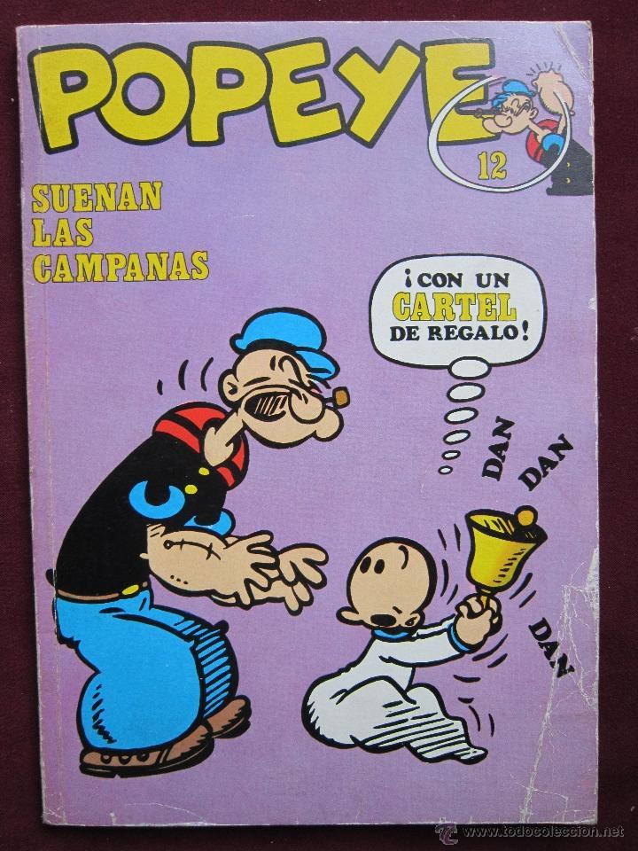 POPEYE. Nº 12. SUENAN LAS CAMPANAS POR ZABOLY. BURU LAN 1972 (Tebeos y Comics - Buru-Lan - Popeye)