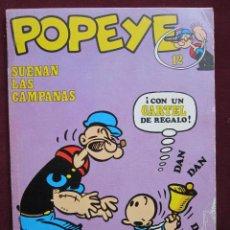 Cómics: POPEYE. Nº 12. SUENAN LAS CAMPANAS POR ZABOLY. BURU LAN 1972. Lote 40846190