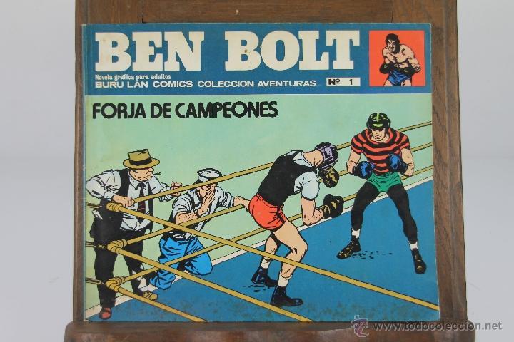 Cómics: 4122- BEN BOLT. LOTE DE 3 COMICS. EDIT. BURU LAN. AÑOS 70. - Foto 2 - 40887512
