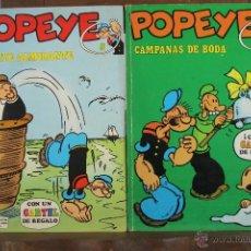 Cómics: 4140- POPEYE. LOTE DE 3 COMICS. EDIT. BURU LAN. AÑOS 70. . Lote 40902473