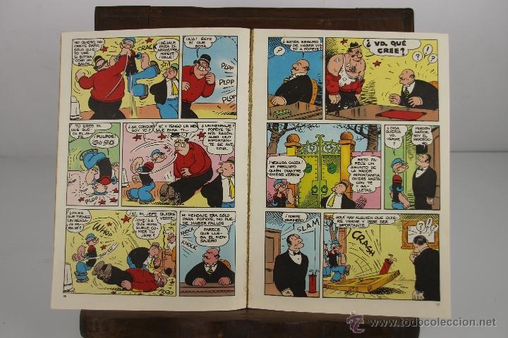 Cómics: 4140- POPEYE. LOTE DE 3 COMICS. EDIT. BURU LAN. AÑOS 70. - Foto 5 - 40902473