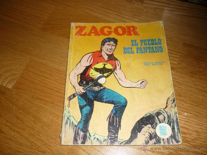 ZAGOR.- BURULAN.- Nº.- 7. (Tebeos y Comics - Buru-Lan - Zagor)