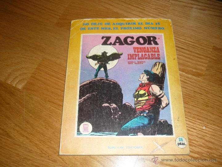 Cómics: ZAGOR.- burulan.- nº.- 7. - Foto 3 - 40975853
