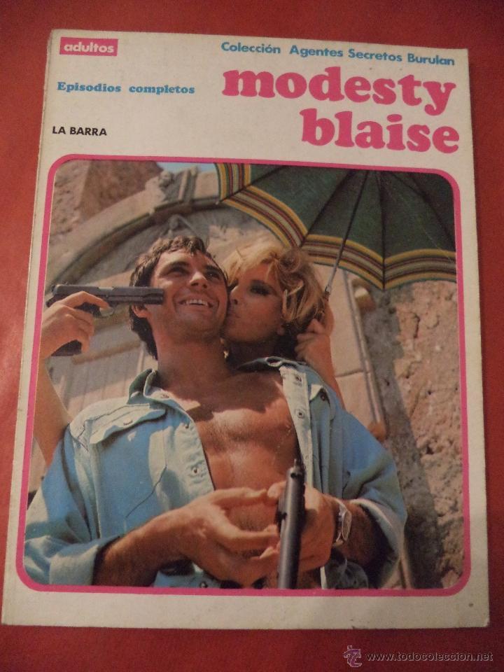 LA BARRA. MODESTY BLAISE. EDICIONES BURULAN, S.A. SAN SEBASTIAN. 1973. (Tebeos y Comics - Buru-Lan - Modesty Blaise)