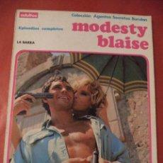 Cómics: LA BARRA. MODESTY BLAISE. EDICIONES BURULAN, S.A. SAN SEBASTIAN. 1973.. Lote 41091425