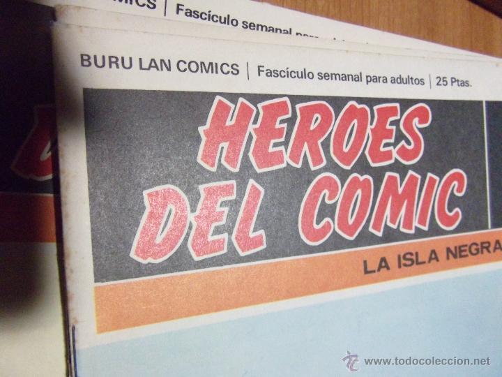 Cómics: 36 COMICS ·· HOMBRE ENMASCARADO ·· BURU-LAN·· VER DESCRIPCIÓN E IMÁGENES ·· - Foto 2 - 41183172
