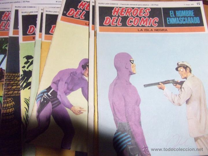 Cómics: 36 COMICS ·· HOMBRE ENMASCARADO ·· BURU-LAN·· VER DESCRIPCIÓN E IMÁGENES ·· - Foto 4 - 41183172