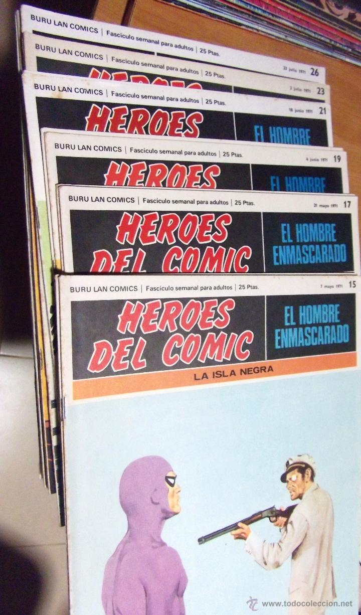 Cómics: 36 COMICS ·· HOMBRE ENMASCARADO ·· BURU-LAN·· VER DESCRIPCIÓN E IMÁGENES ·· - Foto 6 - 41183172