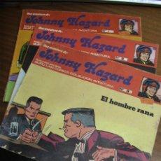 Cómics: JOHNNY HAZARD / LOTE NÚMEROS 1, 2 Y 3 / BURU LAN COMICS BURULAN. Lote 41287835