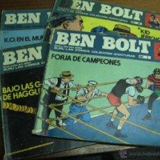 Cómics: BEN BOLT / LOTE CON LOS NÚMEROS 1, 2, 3 / BURU LAN COMICS BURULAN. Lote 41291811