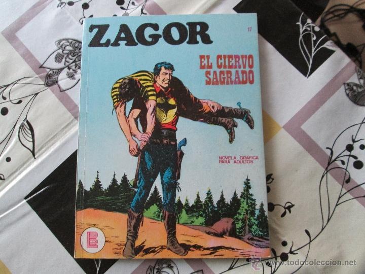 ZAGOR Nº 17 MUY BUENO (Tebeos y Comics - Buru-Lan - Zagor)