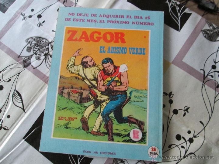 Cómics: ZAGOR Nº 17 MUY BUENO - Foto 3 - 41299785