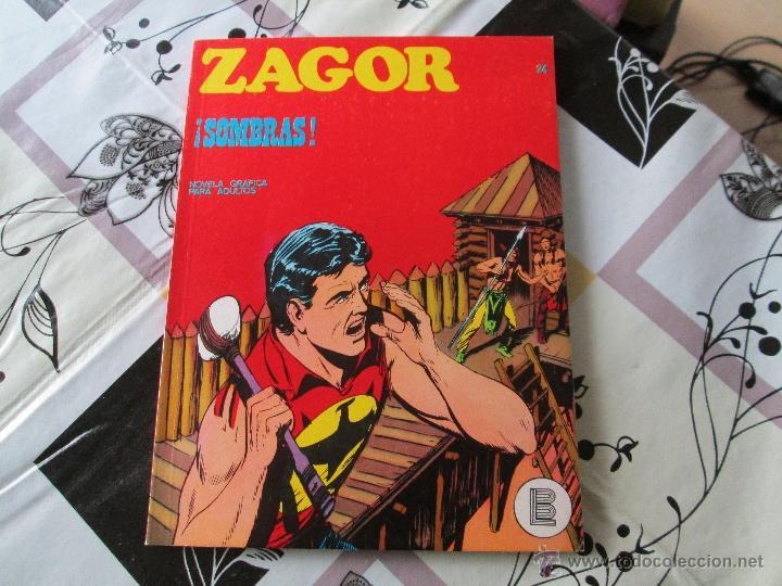 ZAGOR Nº 24 BUENO (Tebeos y Comics - Buru-Lan - Zagor)