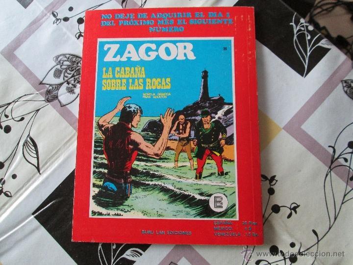 Cómics: ZAGOR Nº 24 BUENO - Foto 3 - 41300001