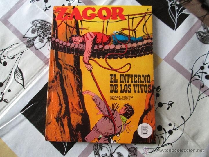ZAGOR Nº 27 MUY BUENO (Tebeos y Comics - Buru-Lan - Zagor)