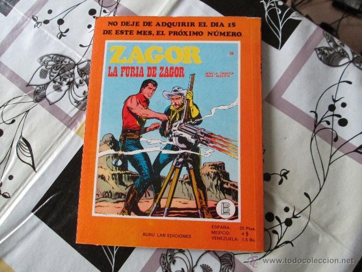 Cómics: ZAGOR Nº 27 MUY BUENO - Foto 3 - 41300075