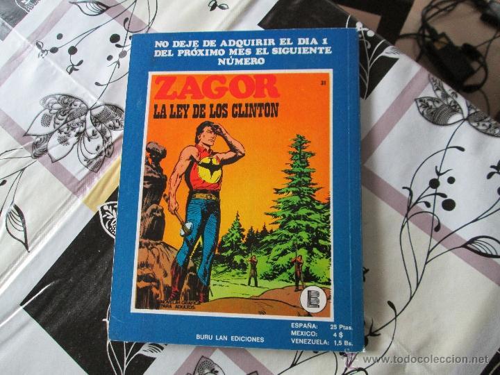Cómics: ZAGOR Nº 30 MUY BUENO - Foto 3 - 41300254