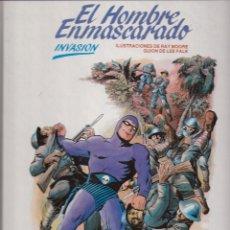 Cómics: INVASIÓN (EL HOMBRE ENMASCARADO). Lote 41367586